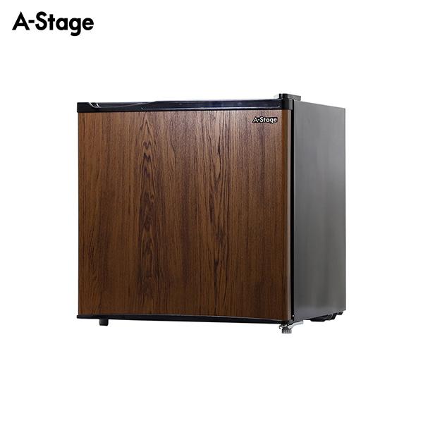 A-Stage 1ドア冷蔵庫45L木目調 ダークウッド BR-45DW