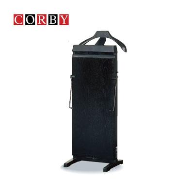 【送料無料】 伝統と技術が紳士をつくる コルビー(CORBY) ズボンプレッサー 30分タイマー付 ブラック 3300JCBK ストレッチャーバー・システム サーミカーブコントロール