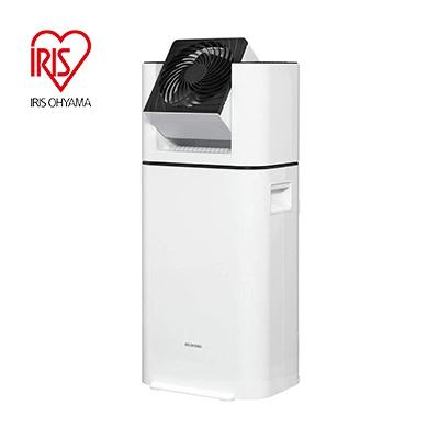 送料無料 サーキュレーターを搭載した 衣類乾燥除湿機 海外限定 アイリスオーヤマ サーキュレーター衣類乾燥除湿機 ホワイト 大容量 営業 IJD-I50 首振り角度3段階
