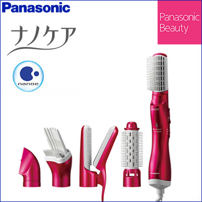 Panasonic(パナソニック) くるくるドライヤー ナノケア ルージュピンク EH-KN99-RP ナノイー 5つのアタッチメント スタイリング ヘアケア パナソニック ☆おすすめ 2017年モデル