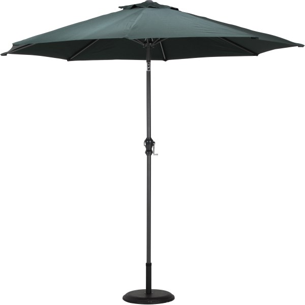 アルミパラソル 270cm グリーン FJB-97043 アウトドア 花見 傘 パラソル ガーデンファニチャ