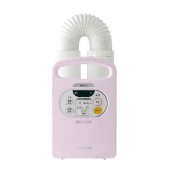 アイリスオーヤマ ふとん乾燥機 カラリエ パールピンク FK-C2-P 布団乾燥機 マット不要 FK-C2