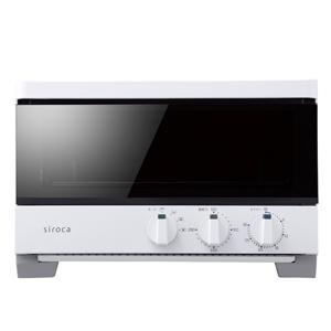 siroca(シロカ) ハイブリッド オーブントースター ST-G121(W) ホワイト ST-G121-W 家電品 キッチン家電 調理家電 電子レンジ・オーブン・トースター