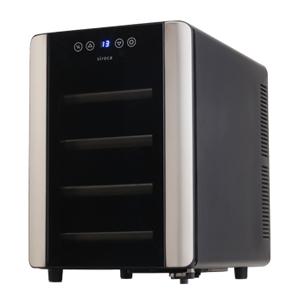 siroca(シロカ) 6本収納ワインセラー SW-P111(K) SW-P111-K 家電品 冷蔵庫 ワインセラー
