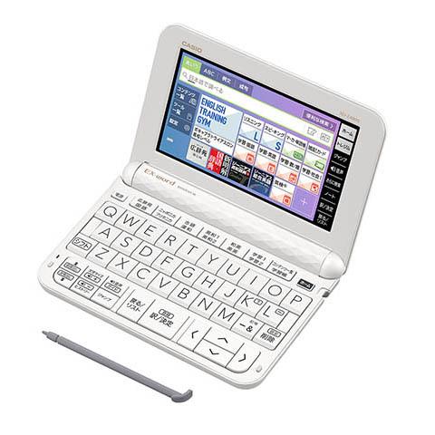 CASIO(カシオ) カシオ計算機 Ex-word 電子辞書  XD-Z4800WE ホワイト XD-Z4800WE エクスワード (高校生モデル)