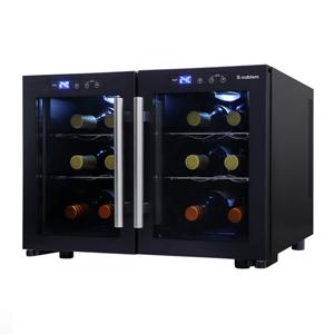 デュアルワインクーラー ※40L SCW-212B 家電品 冷蔵庫 ワインセラー