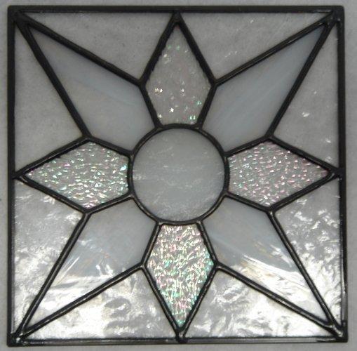 ステンドグラスパネル『【Gシリーズ】No.8』【ステンドパネル 幾何学 動物 花 室内 窓 建具 新築 リフォーム アンティーク ドア 壁 ステンド パネル ステンドグラス】