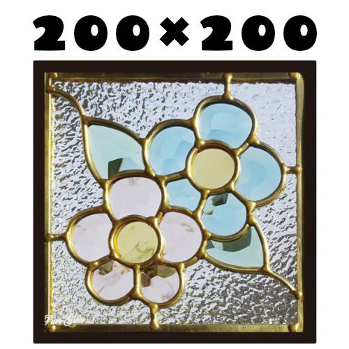 ステンドグラスをもっと身近に!ピュアグラス『SH-D27』(代引き不可)【送料無料】【stained glass 建材 建具 規格品 既製品 窓ガラス 三層ガラス 3層構造 新築 パネル ステンドパネル ステンドグラスパネル】