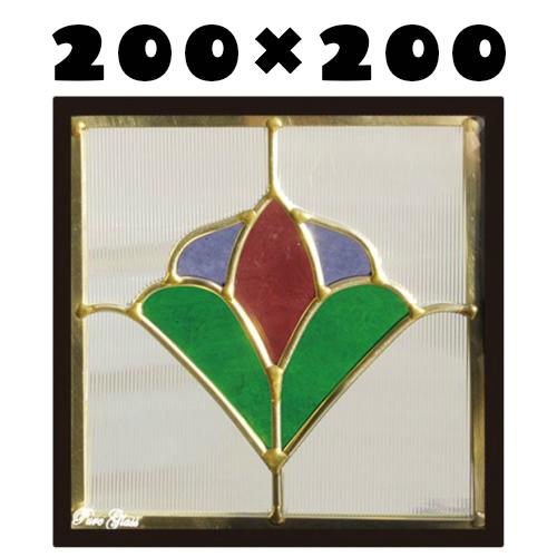 ステンドグラスをもっと身近に!ピュアグラス『SH-D28』(代引き不可)【送料無料】【stained glass 建材 建具 規格品 既製品 窓ガラス 三層ガラス 3層構造 新築 パネル ステンドパネル ステンドグラスパネル】