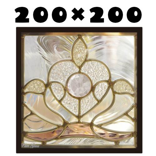 ステンドグラスをもっと身近に!ピュアグラス『SH-D34』(代引き不可)【送料無料】【stained glass 建材 建具 規格品 既製品 窓ガラス 三層ガラス 3層構造 新築 パネル ステンドパネル ステンドグラスパネル】