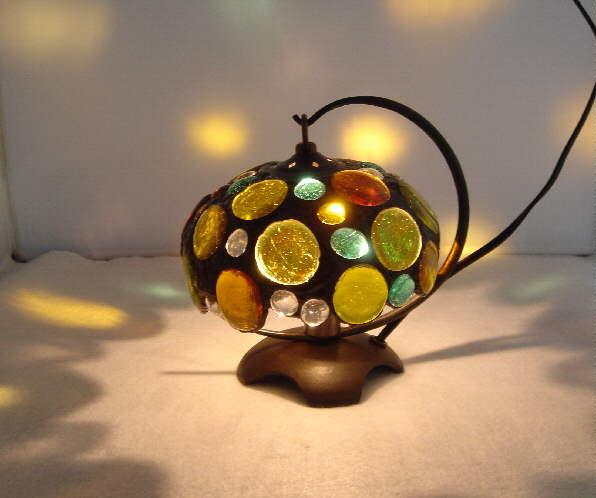ランプスタンド『吊りランプ(ガラス玉G)』