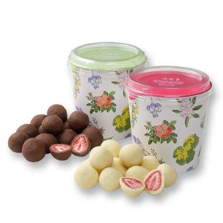 六花亭 ストロベリーチョコ 当店は最高な 開店記念セール サービスを提供します 2種詰合わせ