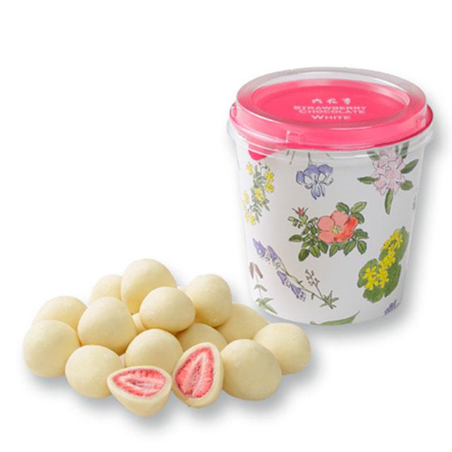正規認証品 新規格 最安値に挑戦 六花亭 ストロベリーチョコ ホワイト