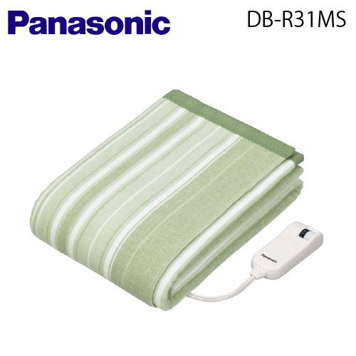 【送料無料】Panasonic(パナソニック) 電気かけしき毛布(シングルMSサイズ)【DB-R31MS-G】【DBR31MSG】