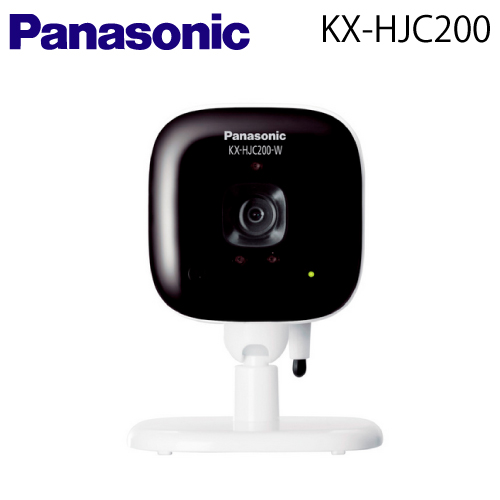 【送料無料】Panasonic(パナソニック) 屋内カメラ【KX-HJC200-W】【KXHJC200】