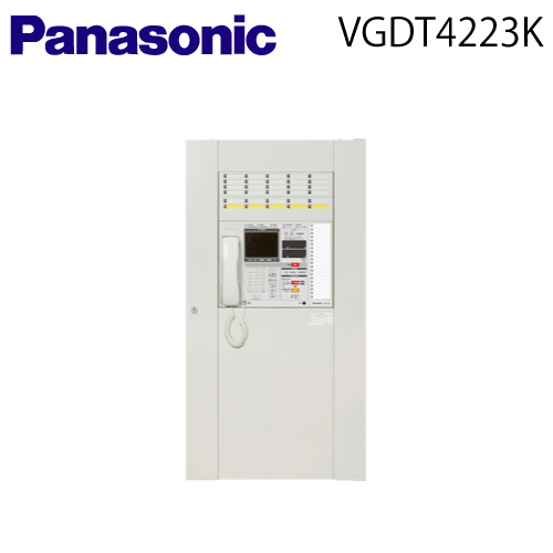 【送料無料】 Panasonic(パナソニック) 【VGDT4223K】統合盤 【共用部用自火報30回線(防排煙兼用5回線)】【音声警報ユニット20局60W】【納期:約45日】