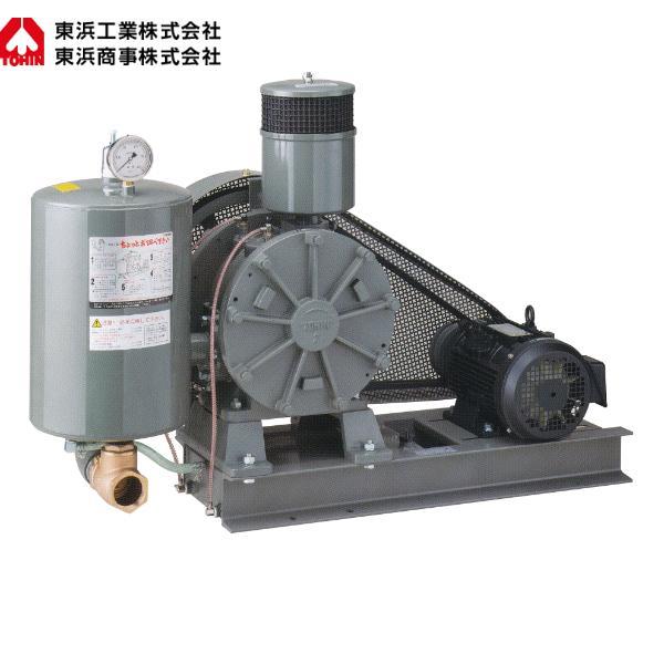東浜工業 ロータリーブロワ HC-60S(三相200V ベルトカバー型)【代引不可】
