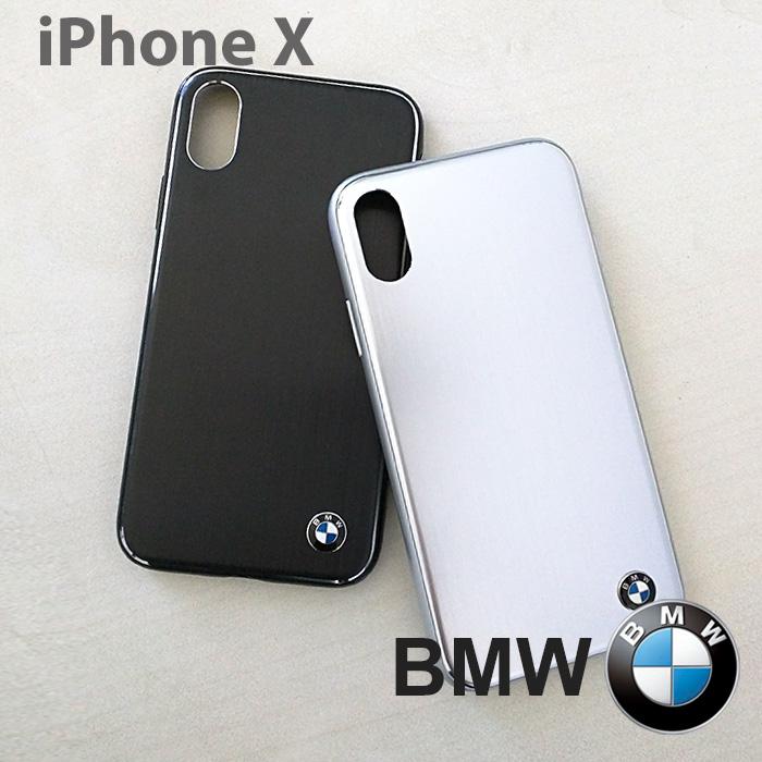 iPhoneXハードケースBMW・公式ライセンス品光沢が高級感あふれるアイフォンXケース