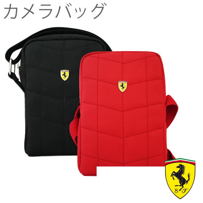 ショルダー バッグ フェラーリ ・ 公式 ライセンス 品 カメラ バッグ [Ferrari CAMERA BAG V1 LARGE] FECALV1 (バッグショルダー/ポーチ/フェラーリ)馬 うま プレゼント【あす楽対応】