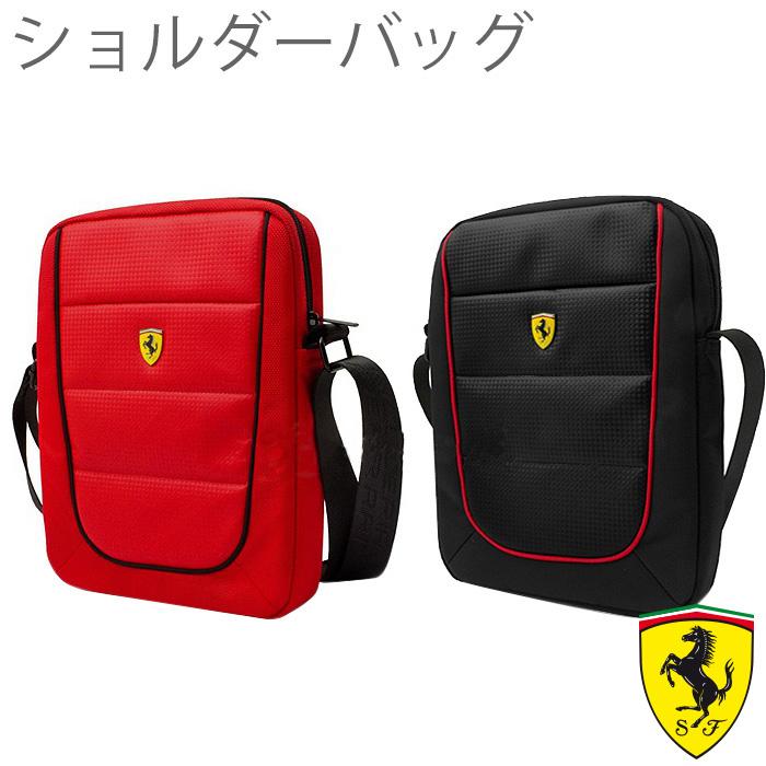 フェラーリ ・ 公式 ライセンス品 10インチ タブレット用ショルダーバッグ iPad【あす楽対応】