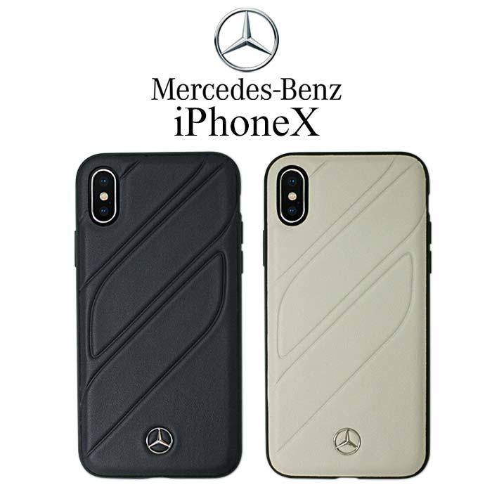 メルセデス・ベンツ 公式ライセンス品 iPhoneXSケース アイフォンXS iPhoneXケース アイフォンX iPhoneケース ハードケース バックカバー シンプル かっこいい メンズ 海外 ブランド ビジネス ロゴ 【送料無料】