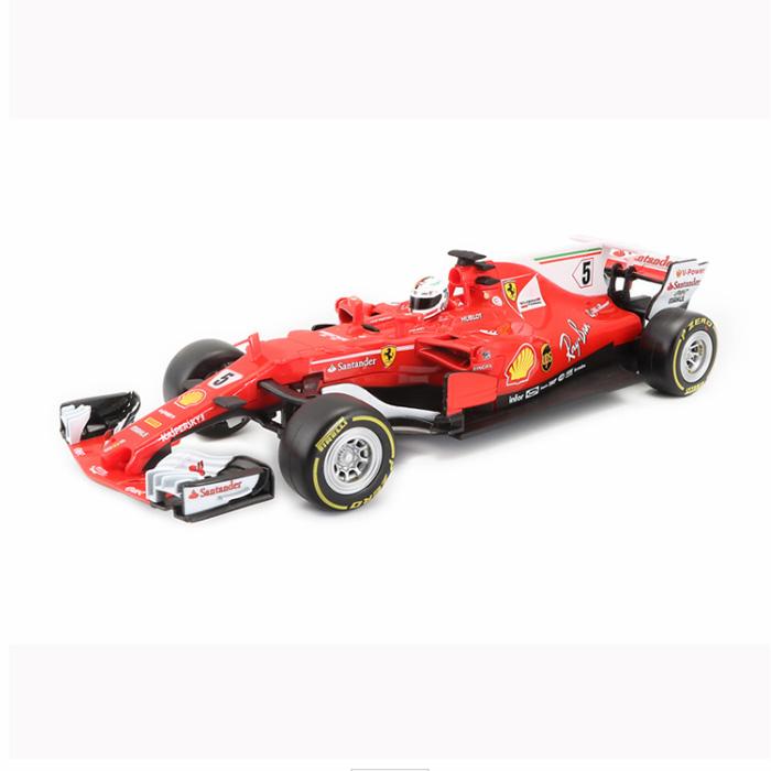 Ferrari フェラーリ F-1 SF70-H #5 ヴェッテル 1/18 スケール Bburago ブラーゴ ミニカー フェラーリ シグネチャー ダイキャストモデル モデルカー 車 クルマ 自動車 スポーツカー レッド 赤 開閉あり burago ブラゴ ギフト プレゼント 200-444