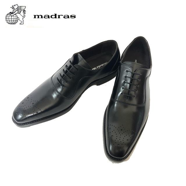 madras/マドラス 日本製/本革 M9167 ビジネスシューズ メンズ 紳士靴(ブラック) マッケイ製法