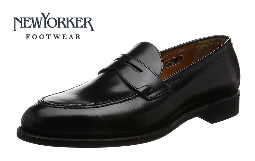 【ニューヨーカー/NEWYORKER】01NY315 (ブラック)ローファー フォーマル メンズ ビジネス 紳士靴 牛革 3E