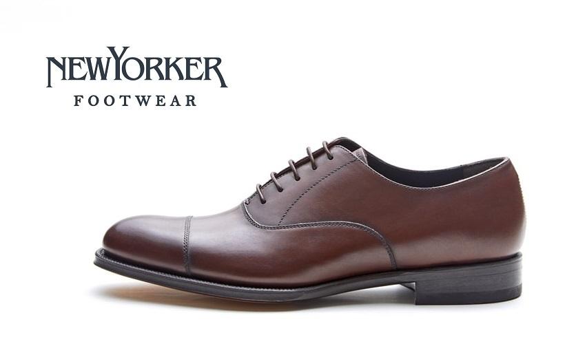 【ニューヨーカー/NEWYORKER】NY021 (ダークブラウン)フォーマル メンズ ビジネス 紳士靴 本革 3E