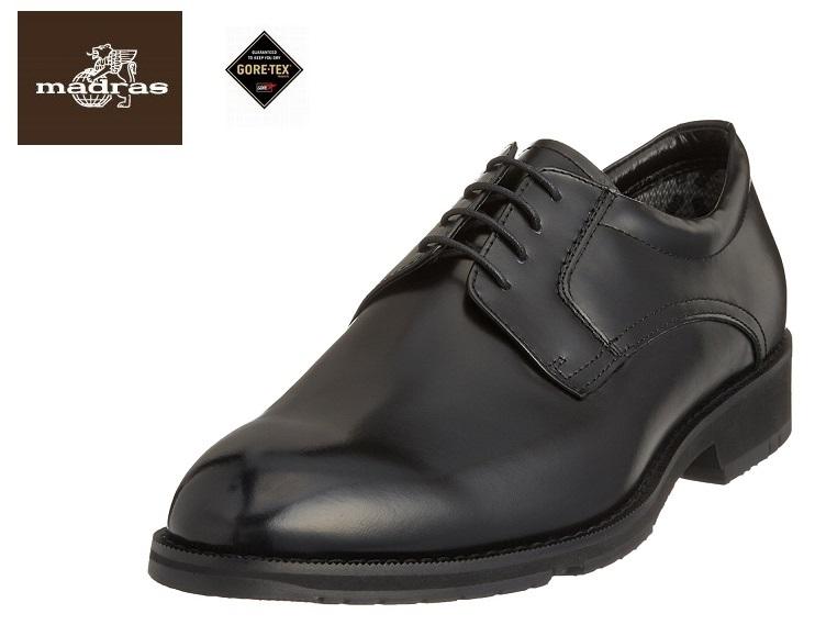 【クールビズ】【madras Walk/マドラスウォーク】MW5501【ゴアテックス/フットウェア】【防水】紳士靴 ビジネスシューズ (ブラック)4E