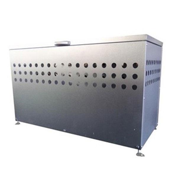 ゴミ箱 屋外 ごみ箱 ダストボックス ふた付き 大容量300L DST-1100【おしゃれ 大型 ゴミストッカー ダストストッカー 一時保管 錆びに強い】
