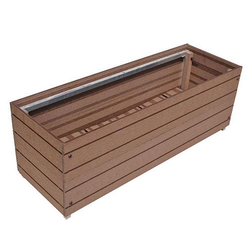 スタイリッシュプランター9030 aks10841【人工木 プランター DIY 組立て 腐らない】