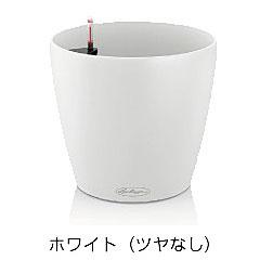 レチューザ ラウンド43 灌水セット付(カラー:ホワイト)【輸入プランターレチューザ デザインプランターレチューザ レチューザシリーズ レチューザプランター】