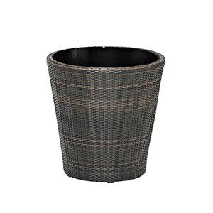 TAPAS ウーブン プランターφ61/0043インドコーヒー【プランター 輸入 大型 業務用 ガーデニング 庭 鉢】