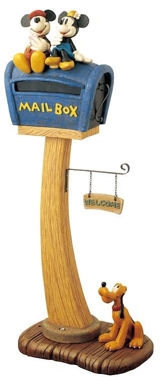 ディズニー/郵便ポスト ポスト(ミッキー&ミニー) SD-0336-3500【ディズニー郵便ポスト ディズニー郵便受け ディズニー 郵便ポスト 郵便受け ポスト】