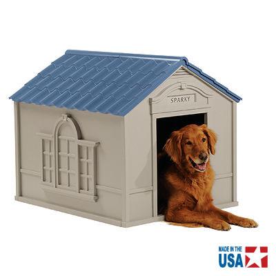 5/2-5/6休業期間/出荷等は5/7以降 【犬小屋 屋外/ドッグハウス】大型犬用ドッグハウス DH350【大型犬 送料無料(沖縄・離島は送料別)】