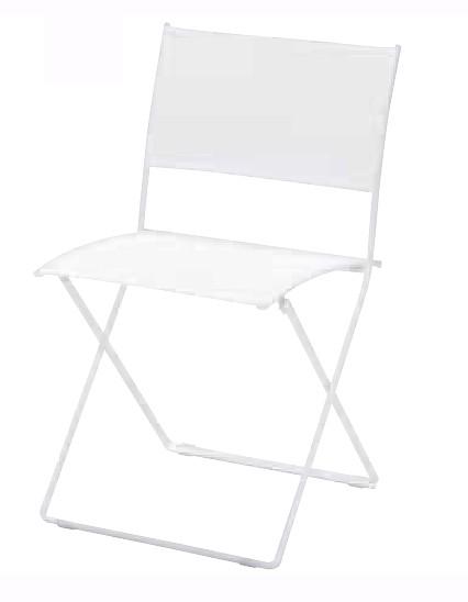 【イス/ガーデン】プレインエアチェア/01ホワイト【47.6cm(幅) x50.5cm(奥行) x82.8cm(高さ) 屋内 屋外 室内 ベランダ 椅子 いす 送料別 家庭用】