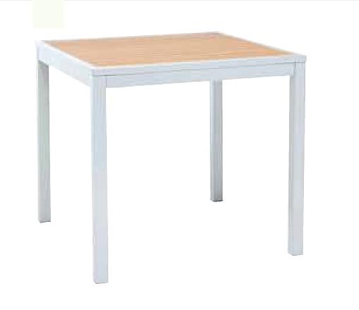 【テーブル/ガーデン】MDTテーブル80x80/チーク色【屋内 屋外 室内 ベランダ 角型 送料別 家庭用】