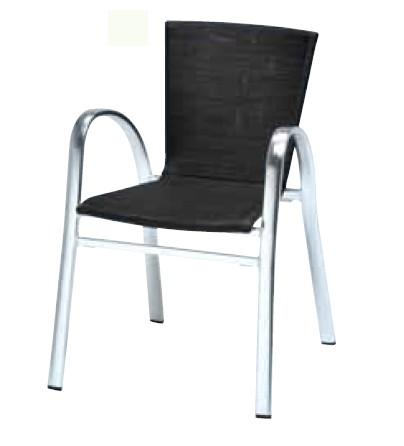 【イス/ガーデン】ストラスブルグアームチェア/0781【57cm(幅) x59cm(奥行) x79cm(高さ) 屋内 屋外 室内 ベランダ 椅子 いす 送料別 家庭用】
