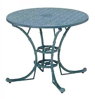 【テーブル/ガーデン】フィリピナステーブル/07ブルーグレイ【屋内 屋外 室内 ベランダ 丸型 円型 円形 送料別 家庭用】
