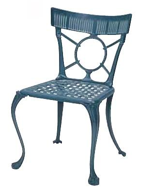 【イス/ガーデン】グエルチェア/07ブルーグレイ【46cm(幅) x43cm(奥行) x83cm(高さ) 屋内 屋外 室内 ベランダ 椅子 いす 送料別 家庭用】
