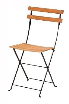 【イス/ガーデン】ベランダチェア/09ラスト【42.5cm(幅) x43cm(奥行) x81.5cm(高さ) 屋内 屋外 室内 ベランダ 椅子 いす 送料別 家庭用】