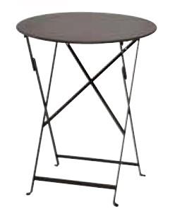 【テーブル/ガーデン】ビストロテーブル60/09ラスト【屋内 屋外 室内 ベランダ 丸型 円型 円形 送料別 家庭用】