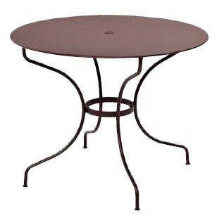 【テーブル/ガーデン】オペラテーブル96/09ラスト【屋内 屋外 室内 ベランダ 丸型 円型 円形 送料別 家庭用】