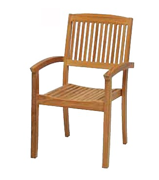 【イス/ガーデン】ニュートンスタッキングアームチェア【屋内 屋外 室内 ベランダ 椅子 いす 送料別 家庭用】