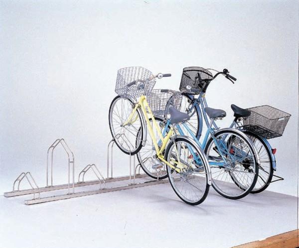 屋外用自転車スタンド サイクルスタンド6台収容 CS-MU6【自転車スタンド 自転車ラック サイクルスタンド 屋内用自転車スタンド 室内用自転車スタンド】