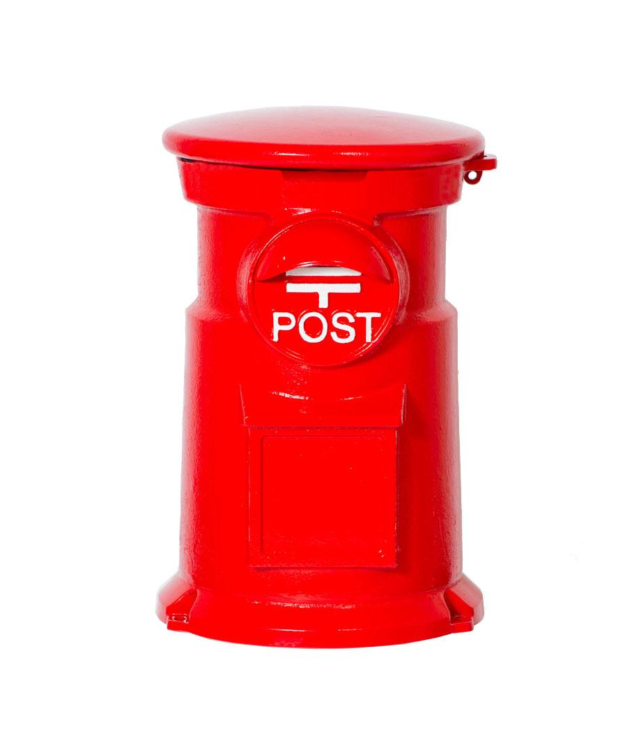 郵便ポスト 置き型ポスト レトロポスト コマチ イメージ:R-1 レッド【前入れ上出し 郵便受け 送料無料(沖縄・離島は送料別途)】
