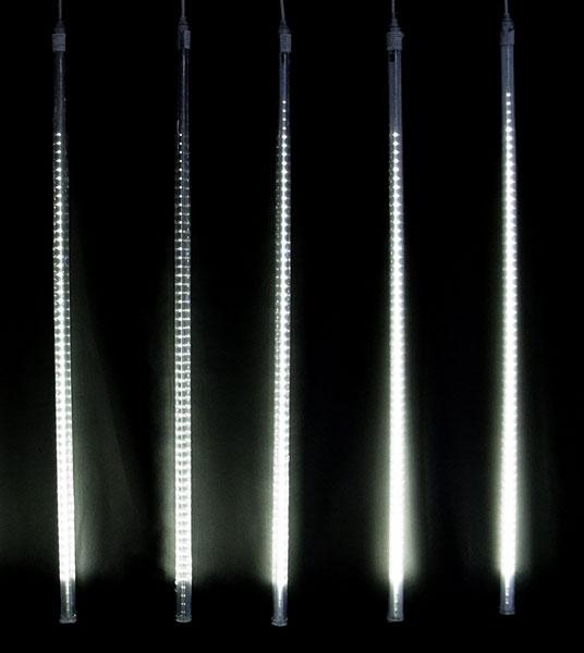 LEDドロップライト600球(100cm・自動点滅)白 DRL100W2【コロナ産業 イルミネーション LED ライト 電飾】