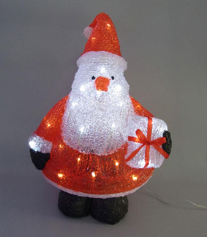 3Dサンタモチーフ 三角サンタ L3D359【コロナ産業 イルミネーション クリスマス サンタ モチーフ LED 照明 ライト】