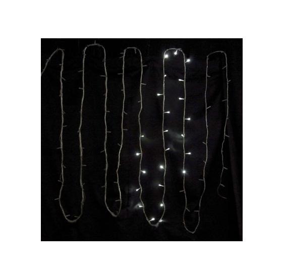 LEDライト ストリングスノーフォール96球 白 SF96W【コロナ産業 イルミネーション 電飾 LED ライト】